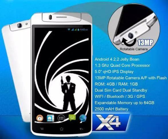 SKK Mobile X4