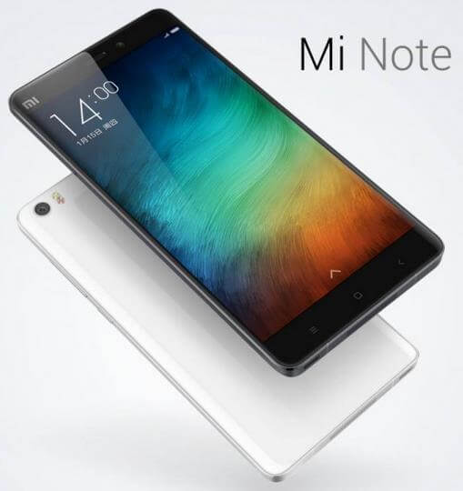 Xiaomi Mi Note in China