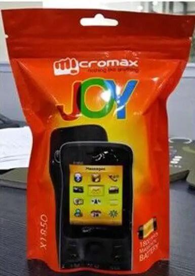 Micromax Joy
