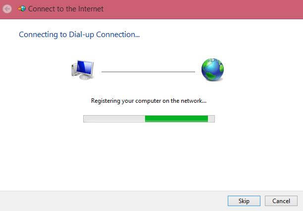 Registering your computer on the network