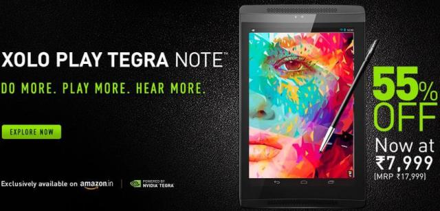 Xolo Play Tegra Note Offer