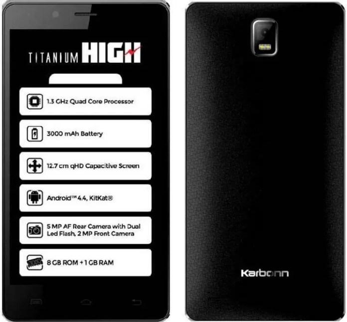 Karbonn Titanium High S320