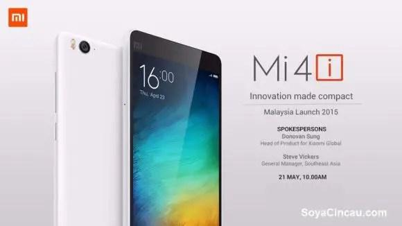 Xiaomi Mi 4i in Malaysia