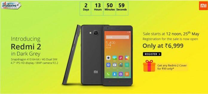 Xiaomi Redmi 2 Dark Grey