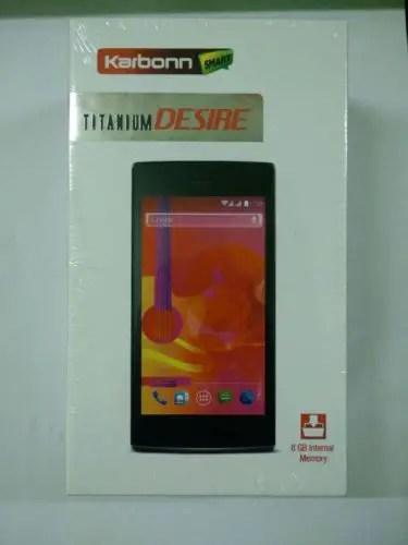 Karbonn Titanium Desire S30
