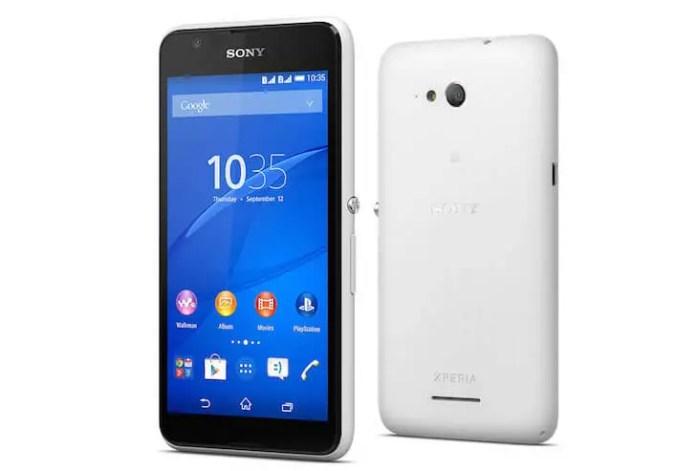 Sony Xperia E4 in Philippines