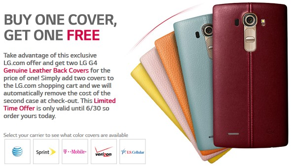 colours of LG G4