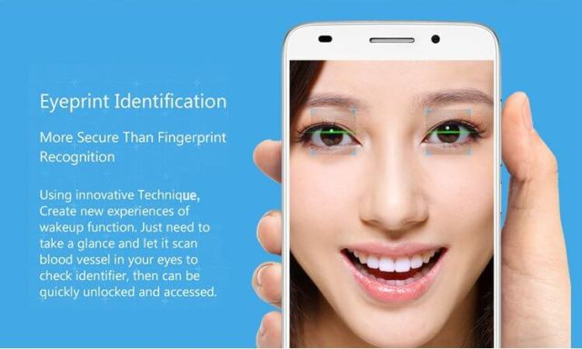 TCL 3S M3G - Eyeprint Identification