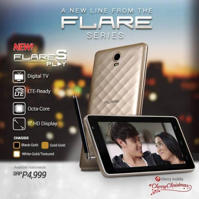 Cherry Mobile Flare S Play - front and back