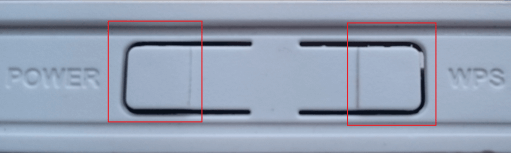 B315 - power and WPS button