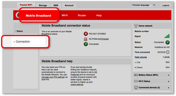 Download new Vodafone Mobile Broadband Software for Windows and Mac