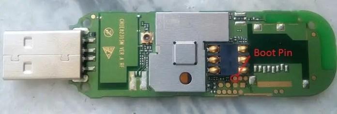 Huawei E8231 Boot Pin