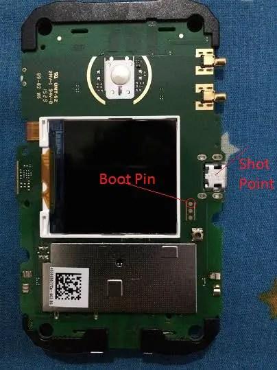 E5577 boot pin