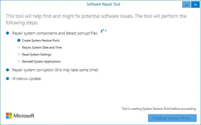 software repair tool for windows 10