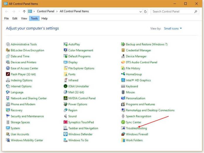 windows update troubleshooter for windows 10