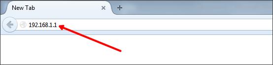 آدرس IP روتر TP-Link را وارد کنید