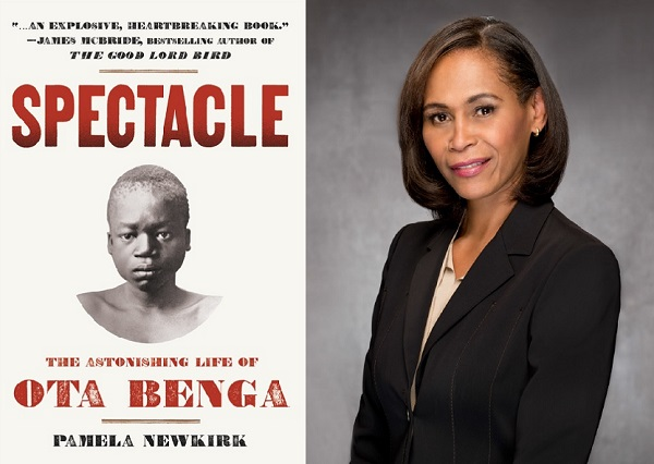 "Book Talk: Pamela Newkirk, ""Spectacle: The Astonishing Life of Ota Benga"" 