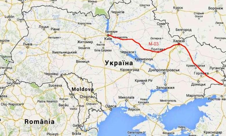 Киев - Харьков - Довжанский М-03