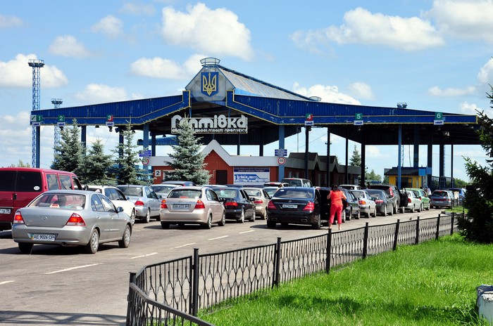 Пересечение границы России Украины