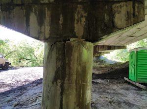 Дорога Н16 перекрыта из-за аварийного моста на обходе Тального