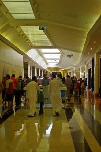 Shopping center inside
