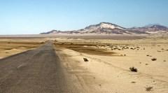 roads though the desert