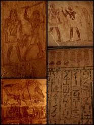 very well presered hieroglyphs