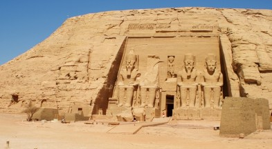 Magnificent great Temple of Ramses II