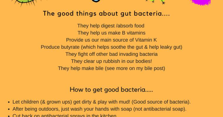 Good bacteria!