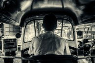 The famous Mumbai auto-rickshaw