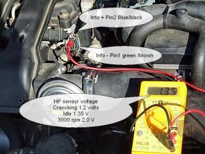 CDTI Diesel Low pressure Fuel sensor voltage  MGRover Forums