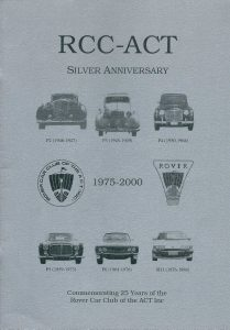 RCCACT Silver Anniversary Magazine Cover