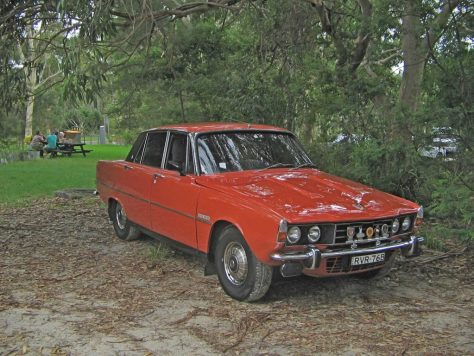 IMG_8024 1976 Rover 3500 Lane Cove National Park 21-2-2015
