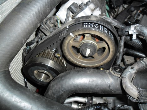 #57 Rover 75 - Previous timing reference marks LHS