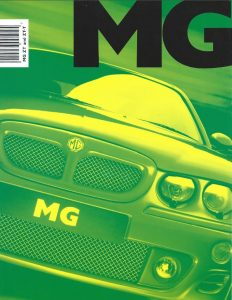 MG ZT Brochure Australia Cover 2002