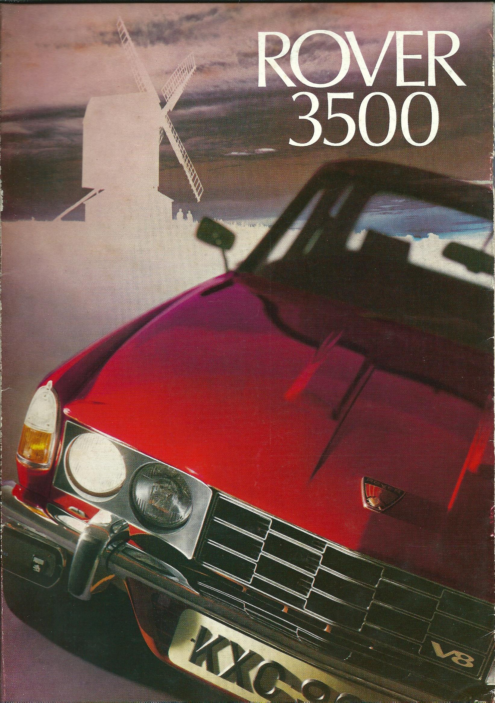 Sales Brochures   Rover P6 Australia