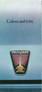 DSC_0001 Rover SD1 Colour & Trim Brochure 1979-1980