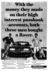 DSC_0013 Rover 3500 SE & VDP Ad circa 1983
