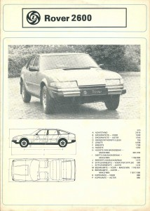 DSC_0010 Rover 2600 Leyland South Africa Brochure Cover circa 1979