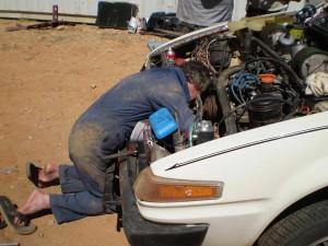DSC_0016 Tom Replacing Oil Seal 7-9-2008