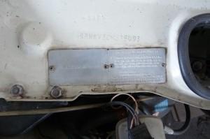 P1080410 1985 Rover 3500SE Series 2 Australian Compliance Plate