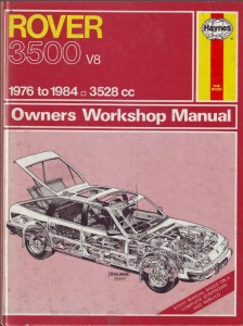 DSC_0008 Rover 3500 SD1 Haynes Workshop Manual 1976 - 1984
