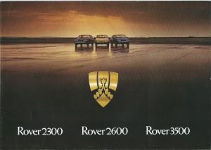 DSC_0001 Rover 2300 2600 3500 Brochure Cover circa 1977-1978