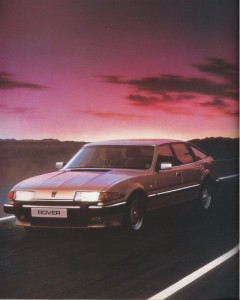 Rover 2000 2300 2600 3500 VDP 3500 VDP EFi Vitesse Brochure Introduction Photo 1-1986