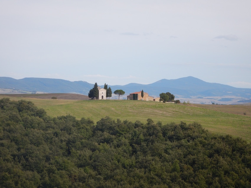Tuscany requires a car when visiting or you'd miss out photo opportunities such as this one.