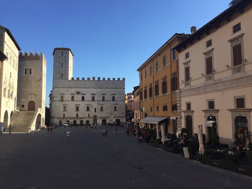 When trying to pick an Italian school in Italy, consider a small town like Todi in Umbria