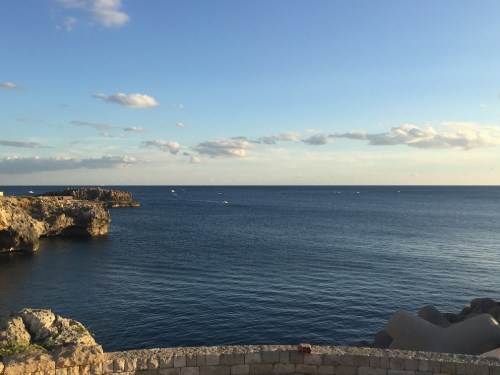 Santa Maria di Leuca waterfront area and grottos