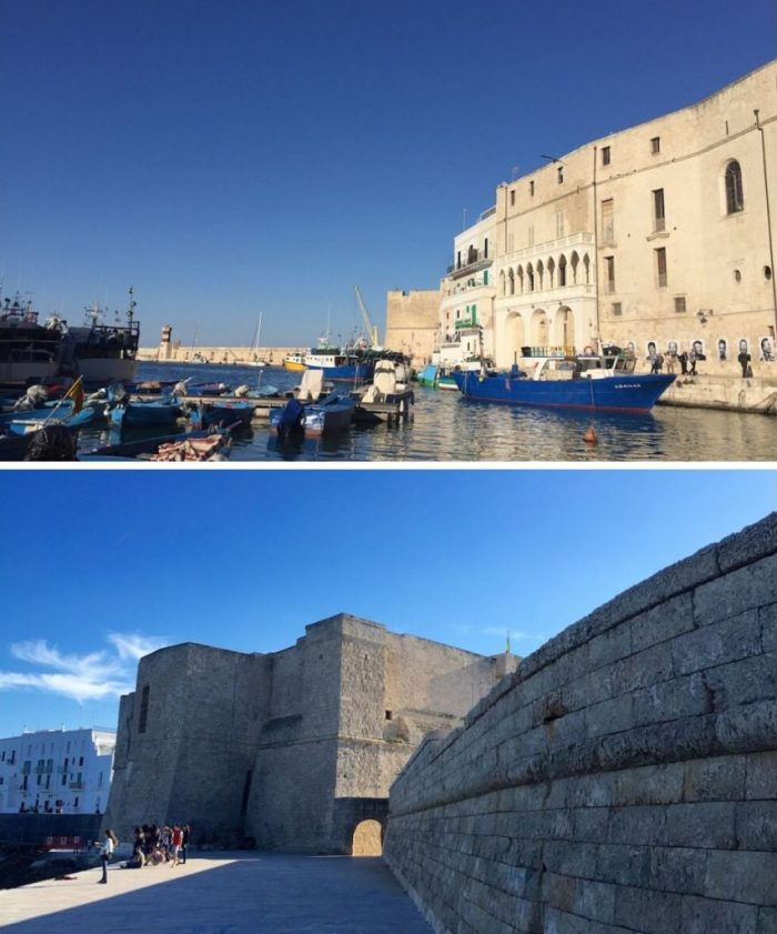 Monopoli is an easy day trip from Polignano A Mare