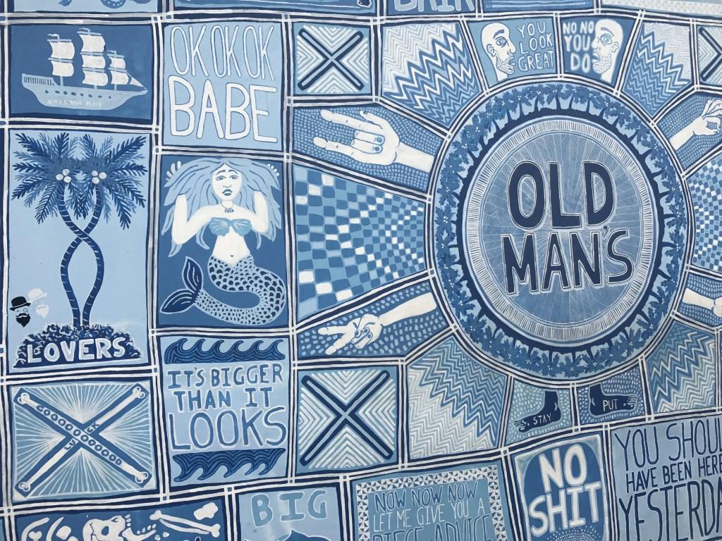 Mural Old Mans Canggu