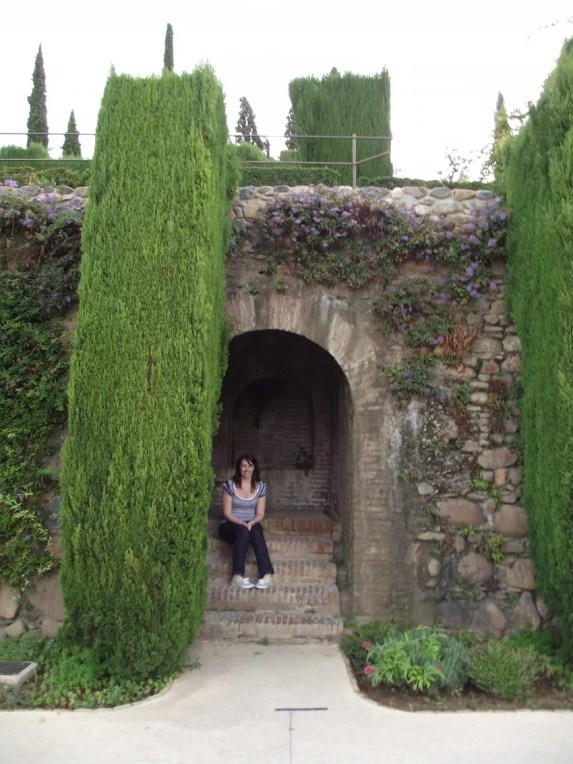 Alhambra stone wall